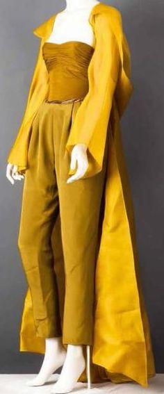 LANVIN Haute couture par Claude MONTANA Printemps-Été 1990 Sidonie LARIZZI