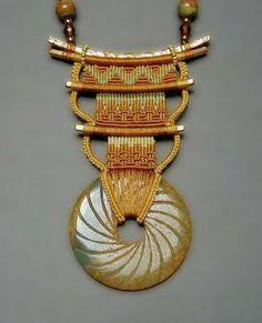 cavandoli macrame patterns   ... Art to Wear: Micro-Macramé Symmetry - Joan Babcock Jewelry