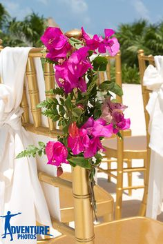 Upgrade your chairs and add floral decorates to create a rich, elegant feel! #SecretsMaroma