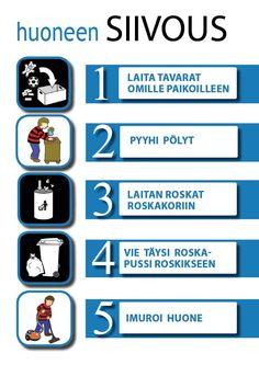 Oppaat ja kuvat [Tampereen kaupunki - Perhe- ja sosiaalipalvelut - Neuropsykiatriset erityisvaikeudet]