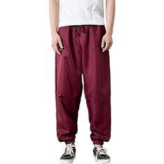Kaister Pantalon Jogger Pantalon Mode Hommes Décontracté Sportif Ample  Pantalon de Jogging  pantalons  pantalonsdesadligen b484addfb04
