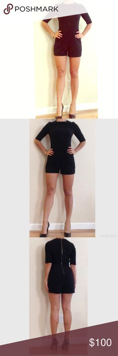 Ted Baker Black Shorts Romper / Jumpsuit Good condition only worn three times. It says size 1 . I am a size S and it fits me perfect . Ted Baker Dresses Mini