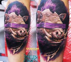 Bebop tattoo by Sanek Tattoo