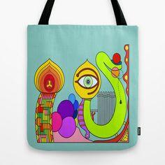 IO VEDO Tote Bag by Joe Pansa - $22.00