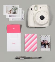 Instax Mini Photo Card Set- for the bridal shower @Megan Cole