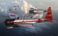 Nakajima B5N1 'Kate' by Adam Tooby                                                                                                                                                                                 More