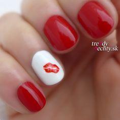 Nail art ideas, Nail art ideas for short nails Nail designs, Nail polish Nail polish colors, Valentine's manicure