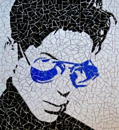 Glass Mosaic by Rachel Boardman - Prince