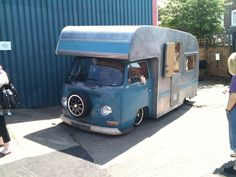 I love vw's but I think I could find much more cuteness than this. walking on sunshine:-) vw type 2 motor home