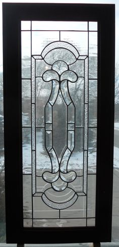 Custom Stained Glass Beveled Cabinet door made and designed by Kim P. Custom Cabinet Doors, Glass Cabinet Doors, Custom Cabinets, Stained Glass Cabinets, Stained Glass Windows, Mosaic Glass, Glass Art, South Milwaukee, Custom Stained Glass