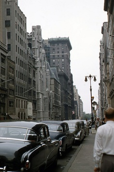 5th Avenu, New York City, 1951