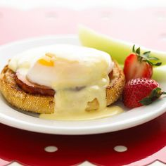 Eggs Benedict - Our simple recipe lets you make this brunch classic ahead -- you can chill the dish for up to 24 hours. Top with hollandaise sauce before warming in the oven.