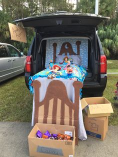 Toy Story trunk or treat