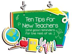 Ten Tips for New Teachers