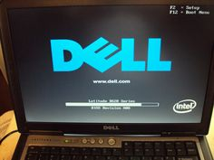 Dell Latitude D620 Core 2 Duo 1.83 Ghz 2GB RAM CDRW/DVDROM Boots to BIOS