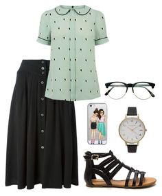 """""""Believe no matter what"""" by loisanne ❤ liked on Polyvore featuring Paul & Joe, Retrò, Casetify and Olivia Burton"""