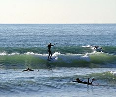 Top beaches to surf on the West Coast. They said Surf San Onofre is just like Waikiki. Can't wait to go!