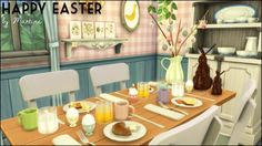 Martine Simblr: Easter decorations • Sims 4 Downloads