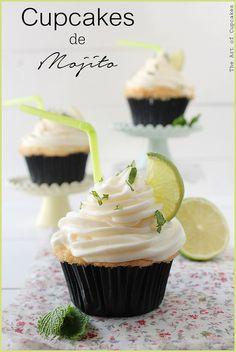 Cupcakes de Mojito para el Verano