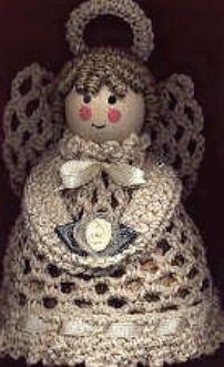 Potpourri Angel Crochet Pattern