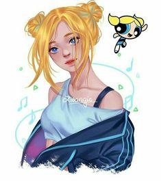 Powerpuff Girls Cartoon, Powerpuff Girls Wallpaper, Anime Vs Cartoon, Girl Cartoon, Cartoon Art, Kawaii Drawings, Disney Drawings, Cute Drawings, Arte Do Kawaii