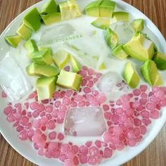 [New] The 10 Best Recipes Today (with Pictures) Indonesian Desserts, Indonesian Cuisine, Asian Desserts, Dessert Drinks, Yummy Drinks, Mango Pudding, Pudding Desserts, Recipe Today, Miniature Food