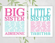Sisters Wood Sign Sisters Play Dress Up Decor for by vinylcrafts