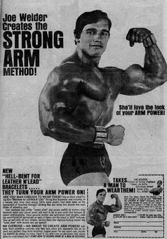 Funny how fitness ads used to be so heavy on the copy...