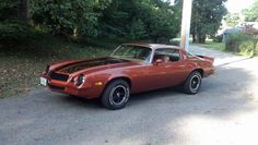 Beautifully Restored Chevy Camaro, Orange, for sale in USA, for $17,000.
