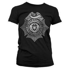 GOTHAM GCPD Police Badge T-Shirt