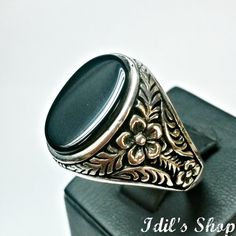 Authentic Turkish Ottoman Style Handmade 925 Sterling by IdilsShop, $90.00