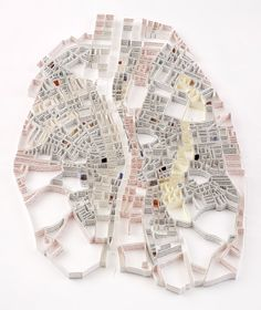 Paper Map by Matthew Picton