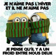 Je n'#aime pas l'#hivers et il ne m'aime pas, je pense qu'il y a un #froid entre nous #deux !!! #rire #blague #drole #humour