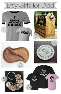 Etsy Gifts for Dad: The Shopping Mama's Father's Day Gift Guide