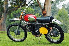 McQueen's 1970 Husqvarna 400 Cross.