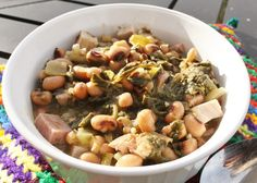 Black Eyed Peas  -Most Southerners will tell you that it dates back to the Civil War. Black-eyed peas were considered animal food.T...