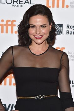 """Actress Lana Parrilla attends the """"Top Five"""" premiere during the 2014 Toronto International Film Festival at Princess of Wales Theatre on September 6, 2014 in Toronto, Canada."""