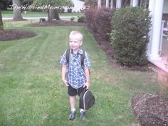 A Letter To My Son On His First Day Of Kindergarten-change the wording for girls.  Holy cow, I'm crying!