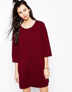 Image 1 ofMonki Textured Skater Dress