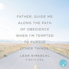 """#First5 @first5app @leahdipascal """"God has given each of us a calling and daily assignments to fulfill. Will we choose to trust and obey Him even when we dont fully understand?"""""""