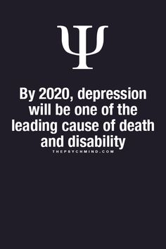 I want to study depression to learn how to lower the probability of people dying from it. I think it's important.