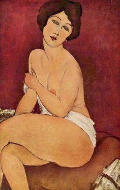 Chez Modigliani, ce sont les yeux, le regard qui fascinent...