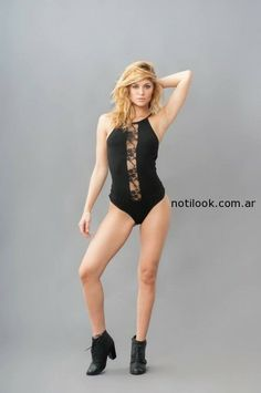 Alma Jeans – Body negro invierno 2014