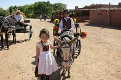 """Randy Travis visits Golondrinas"" Courtesy: Eeebray, Albuquerque, NM (USA)."