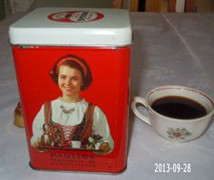 Gustav Paulig -coffee brand - Pimpinella.org Those Were The Days, Coffee Branding, Tin Boxes, My Memory, Tins, Ancient History, Kitsch, Finland, Dreaming Of You
