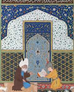 """""My interest was to understand the social construct of the so-called 'traditional genre.'"" —Shahzia Sikander on Persian miniature painting. Click the link…"""