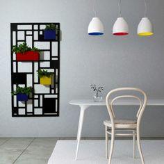 Fioriera per giardino verticale Composition multicolore,design moderno