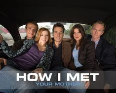 Jason Segel, Alyson Hannigan, Josh Radnor, Cobie Smulders and Neil Patrick Harris. How I Met Your Mother, Ted And Robin, Mother Pictures, Himym, Great Tv Shows, Entertainment, I Meet You, Me Tv, Music Tv