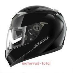 NEW SHARK Helm S900 C 1570g, schwarz glanz M 57/58 mit Sonnenblende