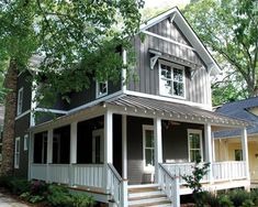 Bungalow House Plans, Small House Plans, Craftsman House Plans - picture of a dream home <3